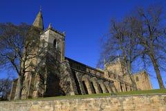 De Abdij van Dunfermline, Schotland Stock Afbeeldingen