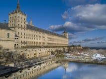 De abdij van Escorial´s, Madrid, Spanje Royalty-vrije Stock Fotografie