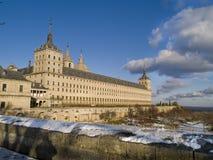 De abdij van Escorial´s, Madrid, Spanje Stock Fotografie