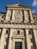 De abdij van Escorial´s, Madrid, Spanje Stock Foto