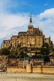 De abdij van het Saint Michel van Mont Royalty-vrije Stock Fotografie
