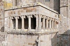 De abdij van het Saint Michel van Mont Stock Foto's