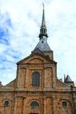 De Abdij van het Saint-Michel van Mont Stock Afbeelding