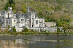 De abdij van Kylemore Stock Afbeelding
