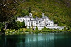 De Abdij van Kylemore, Connemara, Ierland Royalty-vrije Stock Afbeeldingen