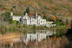 De Abdij van Kylemore in Ierland Royalty-vrije Stock Afbeelding