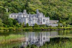 De Abdij van Kylemore, Ierland Royalty-vrije Stock Foto's