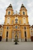 De abdij van Melk Stock Foto's