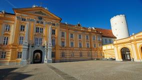 De Abdij van Melk - Oostenrijk Royalty-vrije Stock Foto's