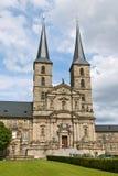 De Abdij van Michaelsberg, Bamberg Stock Foto's