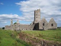 De Abdij van Moyne, Co. Mayo, Ierland royalty-vrije stock fotografie