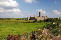 De abdij van Quin, beroemd in provincie Clare, Ierland Royalty-vrije Stock Foto's