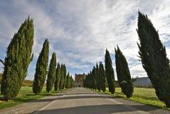 De Abdij van San Galgano, Toscanië, Italië Royalty-vrije Stock Foto's