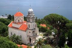 De abdij van Savino ortodox Stock Foto