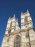 De Abdij van Westminster stock fotografie