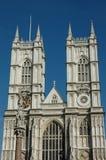 De Abdij van Westminster. Stock Afbeelding