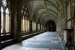 De abdij van Westminster Stock Afbeelding