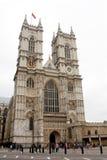 De Abdij van Westminster Stock Foto