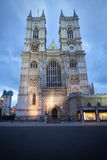 De Abdij van Westminster in Londen Stock Foto