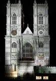 De abdij van Westminster, Londen Stock Afbeelding