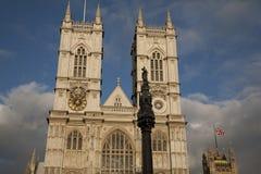 De Abdij van Westminster; Londen Stock Foto's