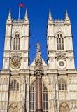 De Abdij van Westminster in Londen Stock Afbeelding
