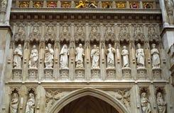 De Abdij van Westminster, Londen, Engeland Stock Afbeeldingen