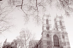 De Abdij van Westminster, Londen; Engeland; het UK Stock Foto