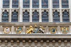 De Abdij van Westminster, Londen, het UK Stock Afbeeldingen