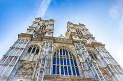 De Abdij van Westminster, Londen, het UK Stock Afbeelding