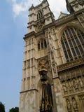 De Abdij van Westminster van de hoek, Stock Fotografie