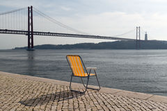 25 de Abril Bridge Image libre de droits