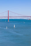 25 de Abril bridge, Lisbon Stock Photos