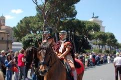 21 de abril de 2014, el cumpleaños de Roma Foto de archivo libre de regalías