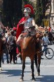 21 de abril de 2014, el cumpleaños de Roma Imagen de archivo libre de regalías
