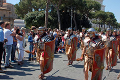 21 de abril de 2014, el cumpleaños de Roma Imagen de archivo