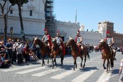 21 de abril de 2014, o aniversário de Roma Foto de Stock