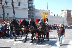 21 de abril de 2014, o aniversário de Roma Fotografia de Stock Royalty Free