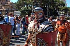 21 de abril de 2014, o aniversário de Roma Fotos de Stock