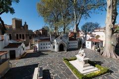 3 de abril de 2017, parque del DOS Pequenitos de Coímbra, Portugal - de Portugal Imagenes de archivo