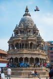 17 de abril de 2018 - Nepal:: Arquitetura velha no quadrado de Patan Durbar fotografia de stock royalty free