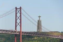 25 De Abril Przerzucający most, Lisbon, Portugalia - Obraz Stock