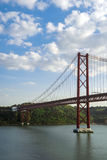 25 de abril puente Fotos de archivo libres de regalías
