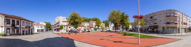 9 de abril Square com o memorial às vítimas da primeira guerra mundial Imagem de Stock