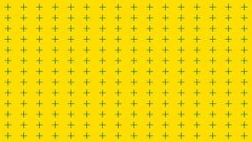 De abstracte achtergrond met vele rijen van kruisen, retro textuur voor 3d ontwerp, geeft terug royalty-vrije illustratie