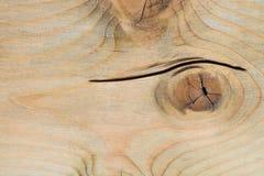 De abstracte achtergrond, textuur van oud hout heeft barstoppervlakte, selectieve nadruk Stock Afbeelding