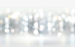 De abstracte achtergrond van bokehdeeltjes Royalty-vrije Stock Fotografie