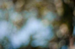 De abstracte achtergrond van Bokehlichten Stock Foto