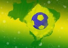 De Abstracte Achtergrond van Brazilië 2014 royalty-vrije illustratie