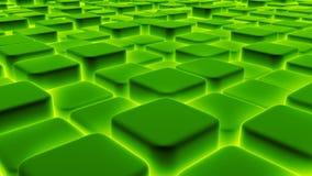 De abstracte achtergrond van 3d blokken, kubussen, 3d doos, geeft terug Stock Afbeelding